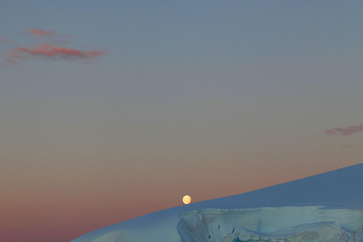 Luna rodando