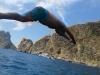 Joaquim Laya. Salto al agua.